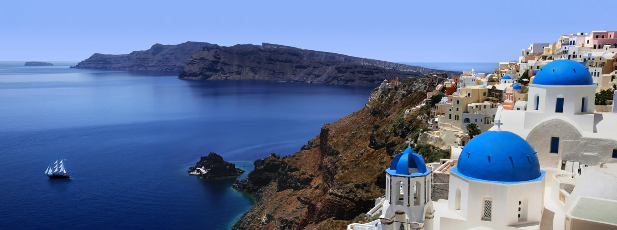 Santorini  the ultimate Honeymoon Destination