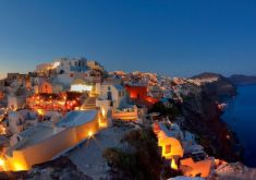 Full Day Akrotiri and Santorini Tour